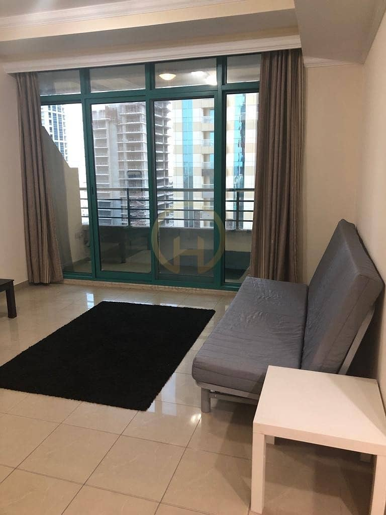1Bedroom | Marina Crown | Semi Furnished