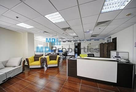 Office for Sale in Jumeirah Lake Towers (JLT), Dubai - Fitted and Furnished Office for Sale Tenanted