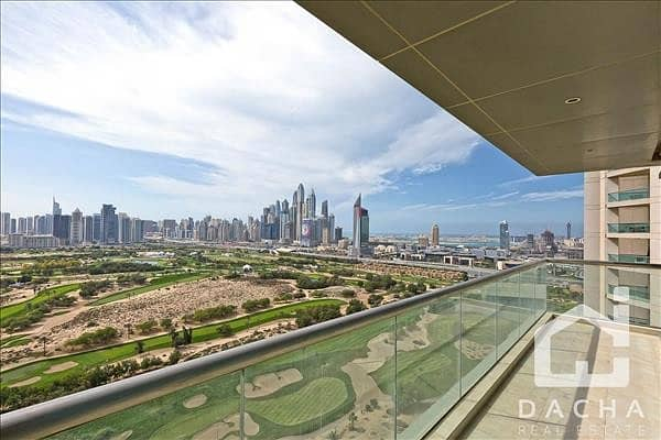 EXCLUSIVE UNIT! FULL GOLF COURSE ! VACANT !