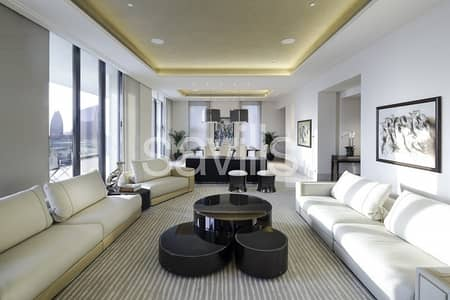 4 Bedroom Apartment for Rent in Downtown Dubai, Dubai - Furnished Full-floor Private Residence