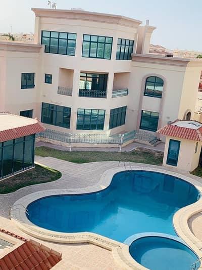 5 Bedroom Villa for Rent in Khalifa City A, Abu Dhabi - 5Bedroom2HallCompleteVillawithSwimmingPoolandGyminKhalifaCityA