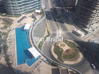 Studio for Rent in Al Reem Island, Abu Dhabi - STUDIO APARTMENT IN SIGMA TOWER 1 FOR RENT