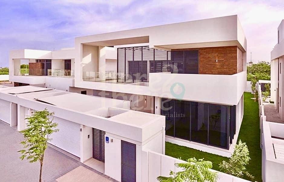 Elegant & Spacious!!! 5 BR Double Row Villa in West Yas