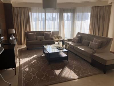 3 Bedroom Flat for Rent in Downtown Dubai, Dubai - Luxury Furnished 3BR | Burj Khalifa View