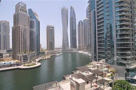 3 Bedroom Apartment for Rent in Dubai Marina, Dubai - Marina View 3 Bed + Maids I Trident