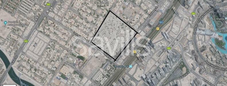 Plot for Sale in Al Satwa, Dubai - Premium Location Freehold Land in Al Wasl Distric