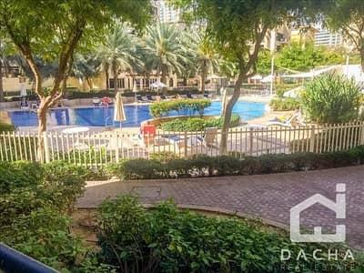 3 Bedroom Flat for Rent in The Greens, Dubai - Ground Floor / Private Garden