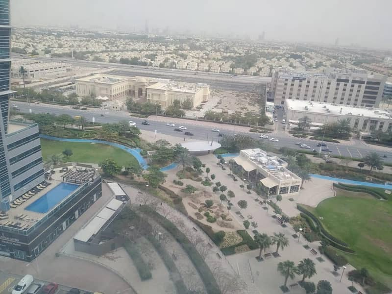 JLT VACANT NICE 1 BEDROOM IN ARMADA TOWER 1 POOL VIEW RENT 55k by 6 cheqs