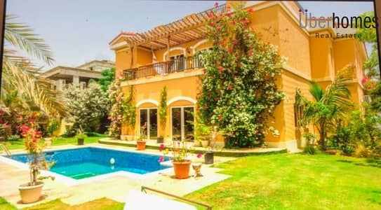 5 Bedroom Villa for Rent in The Villa, Dubai - Fully furnished 5 Br - landscaped garden