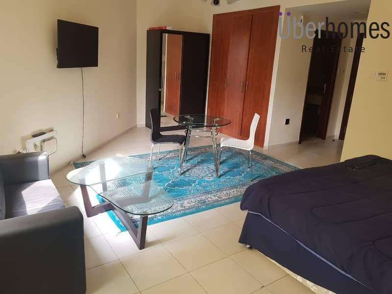 2 Fully furnished studio | multiple cheques