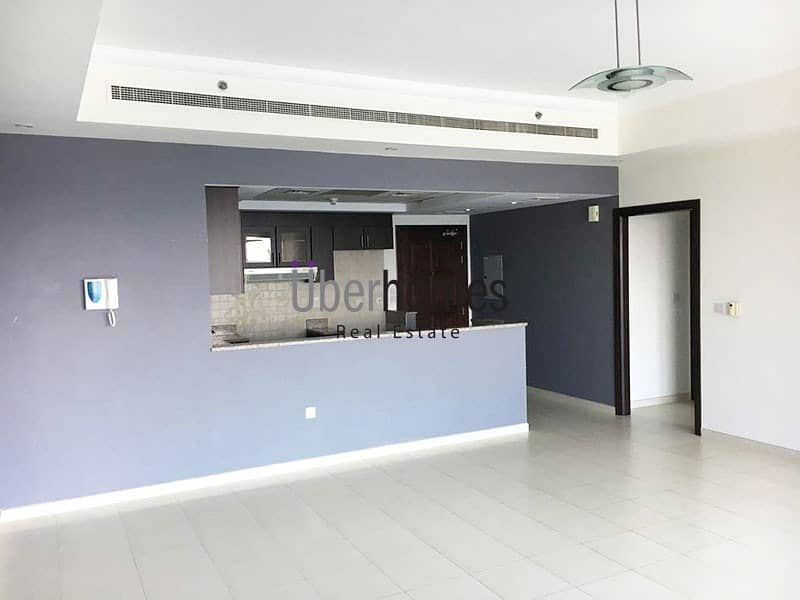 Large 1 BR |Community View | Unfurnished