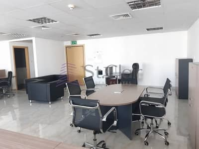Office for Rent in Jumeirah Lake Towers (JLT), Dubai - Fully Fitted Office with Parking | Low Floor