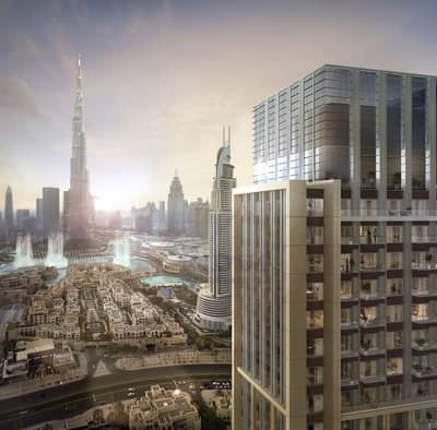 3 Bedroom Flat for Sale in Downtown Dubai, Dubai - A 58 STOREY MASTERPIECE | BURJ ROYALE