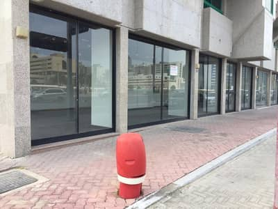 Showroom for Rent in Al Salam Street, Abu Dhabi - Double Frontage Showroom at affordable rent