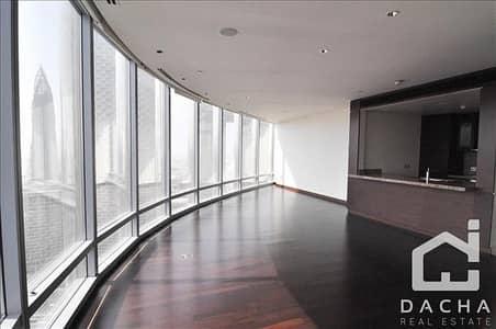 شقة 3 غرفة نوم للايجار في وسط مدينة دبي، دبي - Truly Fascinating 3BR+maid in Burj Khalifa