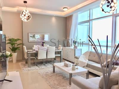 3 Bedroom Flat for Rent in Dubai Marina, Dubai - Fully Furnished 3 Beds | High Floor | Sea View