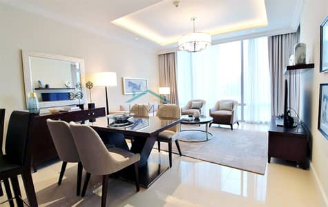 1 Bedroom Flat for Sale in Downtown Dubai, Dubai - 1BR   Full Burj Khalifa & Fountain Views