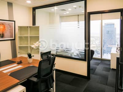 Office for Rent in Sheikh Zayed Road, Dubai - Fully Furnished Luxurious Offices with Ejari for rent