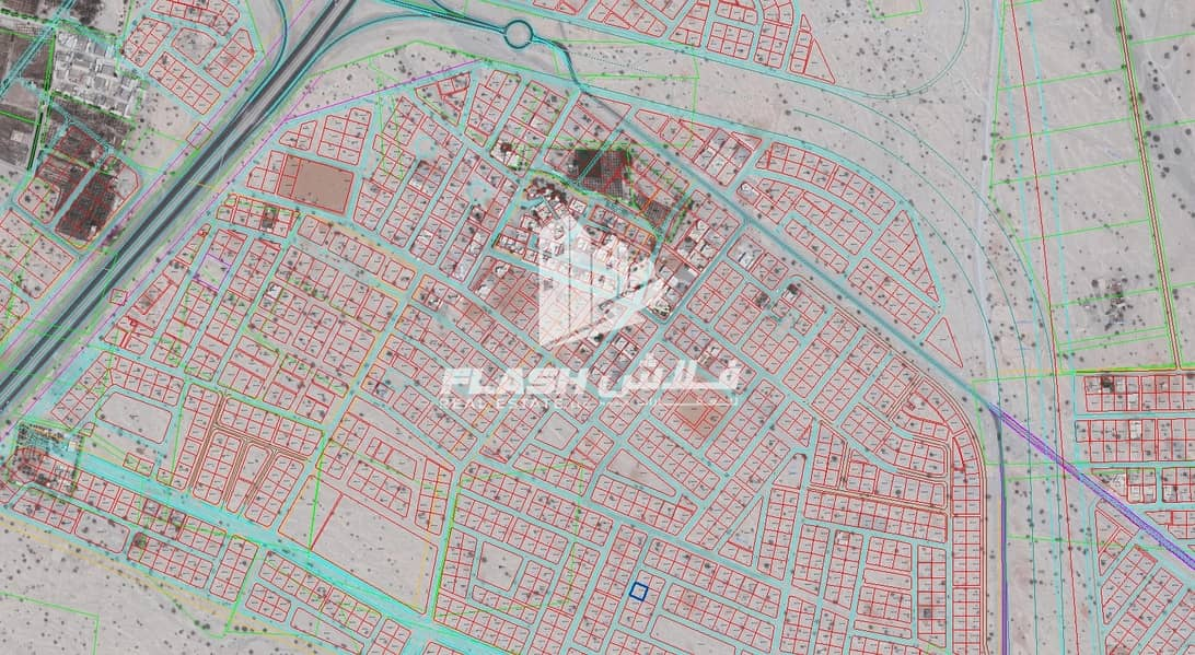 7 Plots for sale in Seih Al Harf  Rasalkhaimah