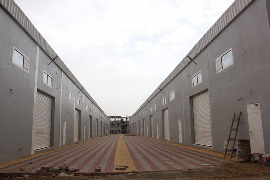 للايجار مستودعات في الصناعية الحديثة  في ام القيوين . (ام الثعوب)