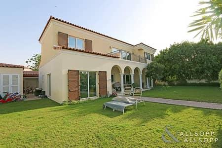 5 Bedroom Villa for Rent in Motor City, Dubai - Best Location Backing Park | 5 Beds