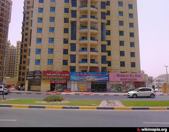 شقة في أبراج الخور عجمان وسط المدينة 1 غرف 180000 درهم - 4018115