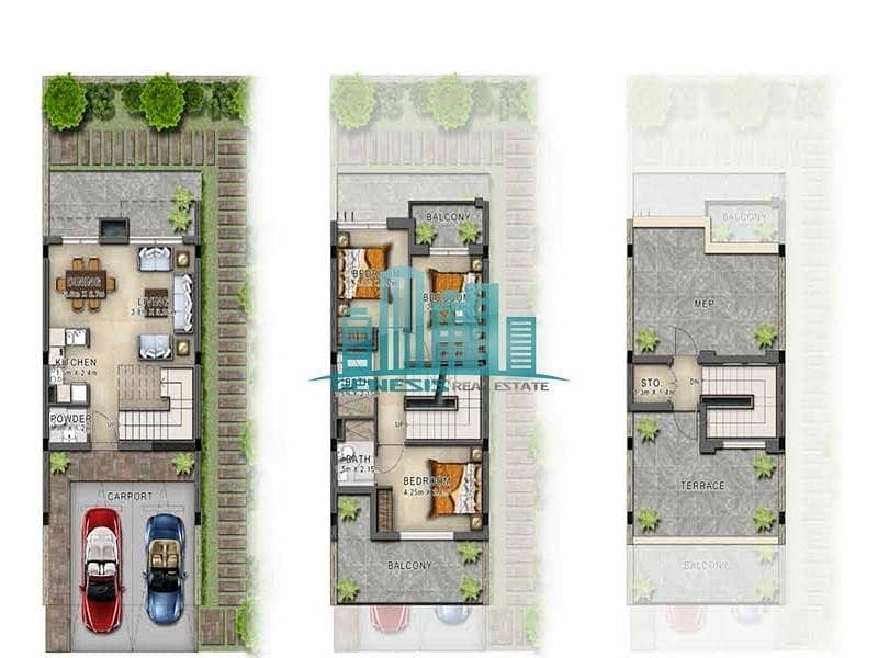 11 Very affordable 3-BR Luxurious Villa! Branded with Just Cavalli