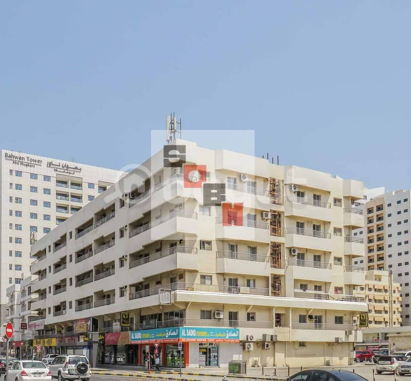 Spacious 2 bedroom available for rent in SOBH Sharjah Bldg.1