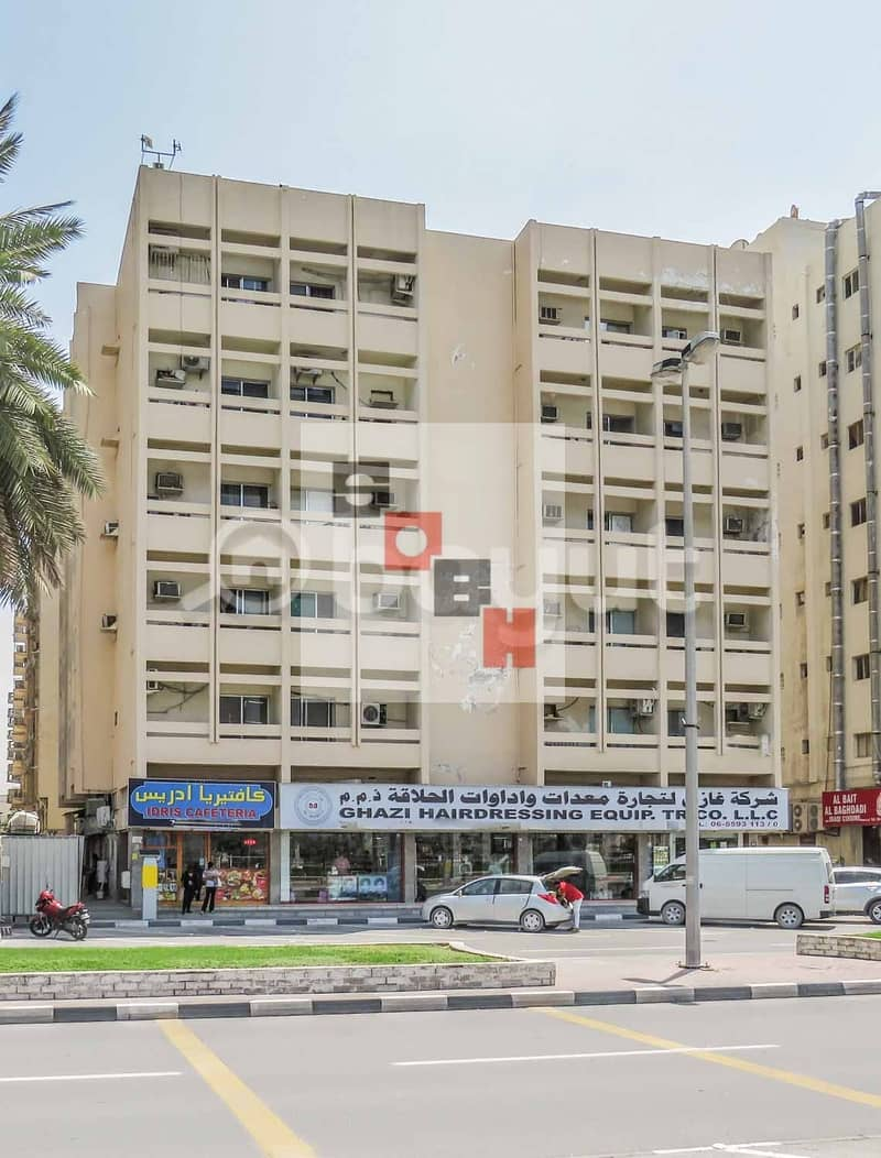 Spacious 3 bedroom available for rent in SOBH Sharjah Bldg. 4