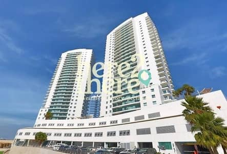 2 Bedroom Flat for Rent in Al Reem Island, Abu Dhabi - Lovely Apartment with Balcony and Seaview