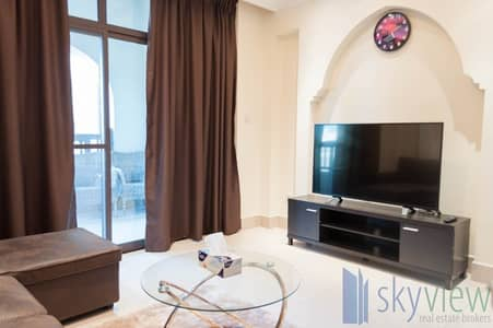1 Bedroom Apartment for Rent in Old Town, Dubai - Burj View | Fully Furnished | High Floor