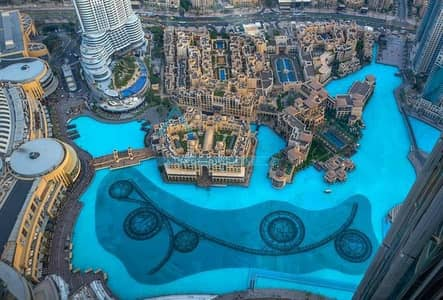 2 Bedroom Flat for Rent in Downtown Dubai, Dubai - ELEGANT 2 BR FOUNTAIN VIEW | BURJ KHALIFA