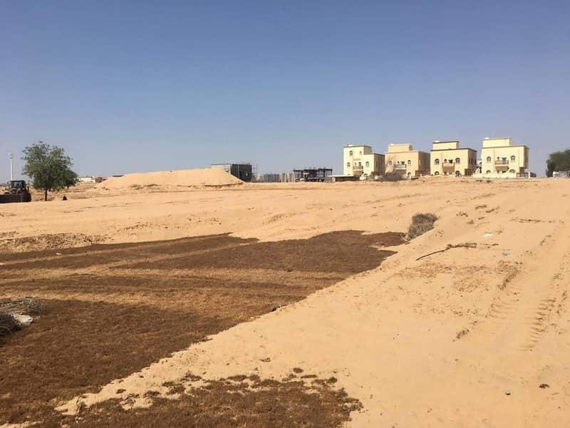 عرض لتملك ارض سكنية بحي الياسمين لجميع الجنسيات بسعر (٢٦٥) الف درهم تقع خلف حديقة الحميدية