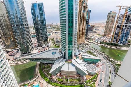 شقة 2 غرفة نوم للايجار في أبراج بحيرات جميرا، دبي - Next to metro | Furnished | Immaculate |