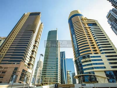 Office for Sale in Jumeirah Lake Towers (JLT), Dubai - Full Lake View Partitioned Office