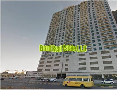 2 Bedroom Flat for Rent in Al Nuaimiya, Ajman - City Towers - 2 Bed Hall - No AC Bill - Chiller Free - Open view - Prime area of Ajman
