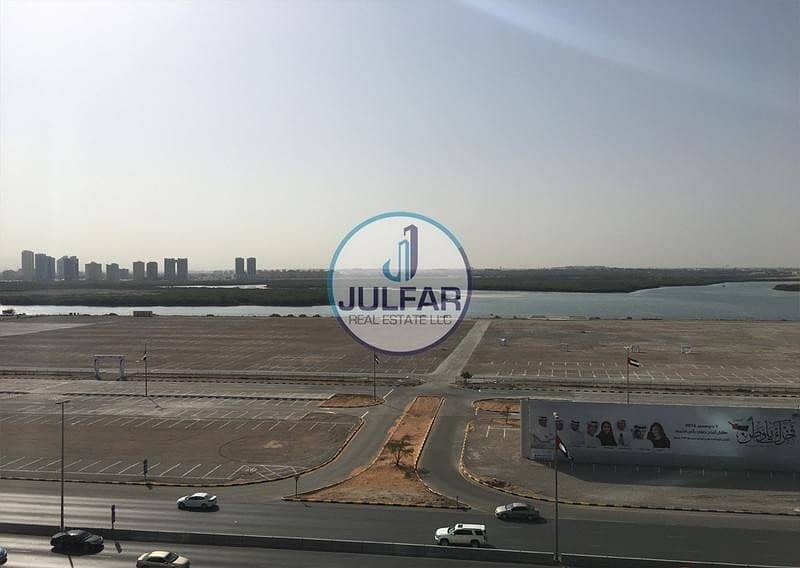 2 Unfurnished 1 BHK Sea View Apartment for SALE in Julphar Tower