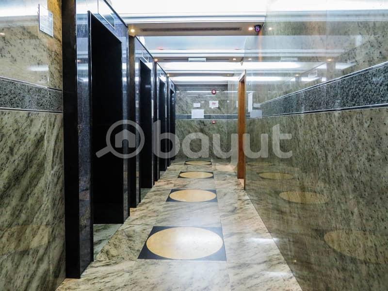 شقة في برج الجميرا شارع النجدة 1 غرف 48000 درهم - 4020640