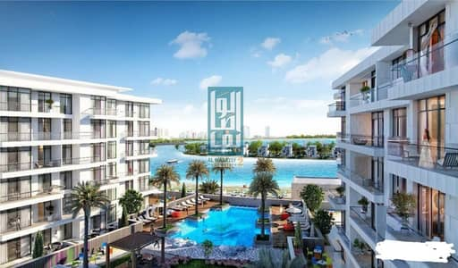 Studio for Sale in Sharjah Waterfront City, Sharjah - pay 2900 monthly only - sea view studio