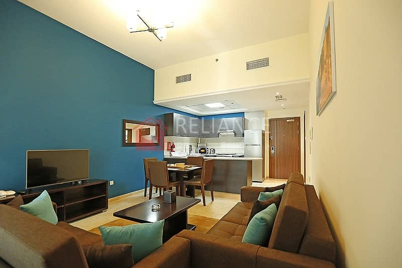 Hot Offer| Furnished One Bed Room |Pool & Community View|JVT