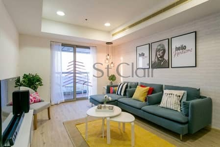 2 Bedroom Flat for Rent in Dubai Marina, Dubai - Furnished 2 Beds | High Floor | Full Sea View