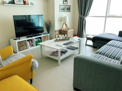 فلیٹ 2 غرفة نوم للايجار في مساكن شاطئ جميرا (JBR)، دبي - Partial Sea View
