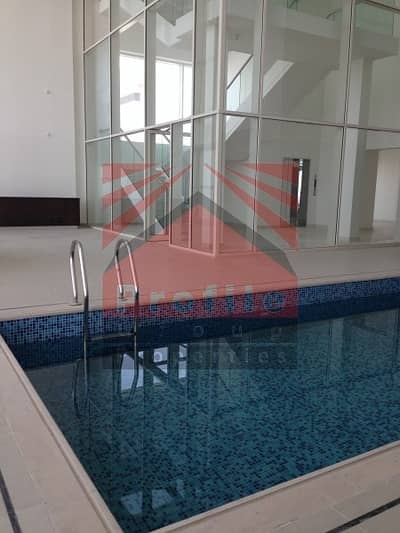 5 Bedroom Penthouse for Rent in Al Reem Island, Abu Dhabi - VIP Penthouse for rent in Marina Heights Reem Island