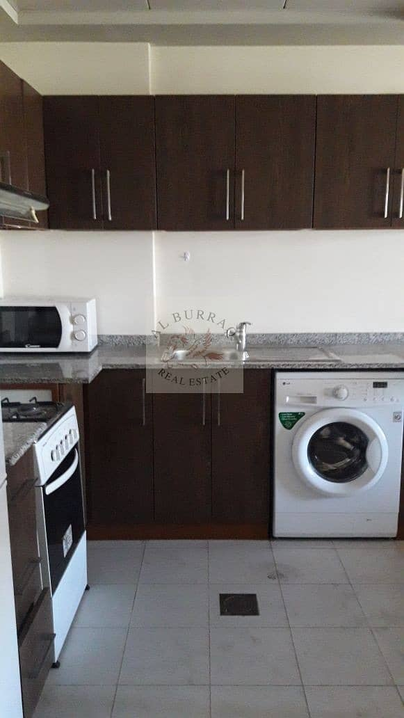 10 Multiple Cheques: Fully Furnished Studio in Binghatti Apartment
