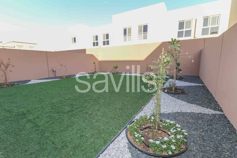 2 brand new landscaped 3 bed TH in Al Zahia