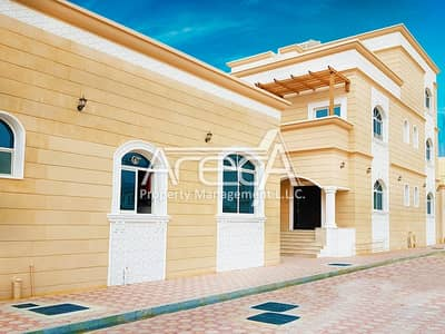 8 Bedroom Villa for Sale in Khalifa City A, Abu Dhabi - Huge Home! Brand New 8 Bedroom villa with Great Price, Khalifa City!