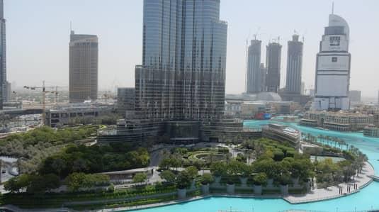 شقة 3 غرفة نوم للبيع في وسط مدينة دبي، دبي - Three Bedroom with Fantastic View of Burj Khalifa and Fountain