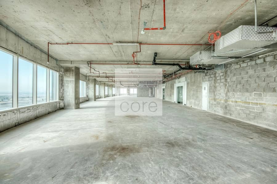 2 Conveniently located | Shell and core unit