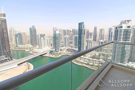 1 Bedroom Apartment for Sale in Dubai Marina, Dubai - Full Marina View   Best 1 Bedroom Layout
