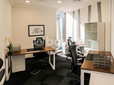 Office for Rent in Sheikh Zayed Road, Dubai - Furnished Shared Offices | Ejari | Office renewal